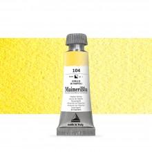 MaimeriBlu : Watercolour Paint : Half Pan : Naples Yellow