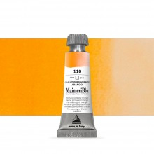 MaimeriBlu : Watercolour Paint : Half Pan : Permanent Yellow Orange