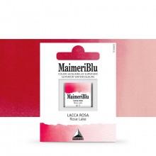 MaimeriBlu : Watercolour Paint : Half Pan : Rose Lake