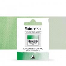 MaimeriBlu : Watercolour Paint : Half Pan : Cobalt Green Light