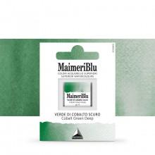 MaimeriBlu : Watercolour Paint : Half Pan : Cobalt Green Deep