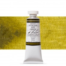 M. Graham : Artists' Watercolour Paint : 15ml : Azo Green