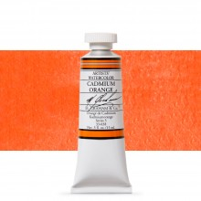 M. Graham : Artists' Watercolour Paint : 15ml : Cadmium Orange