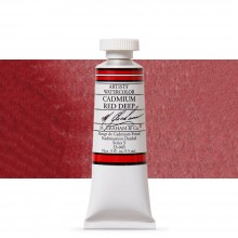 M. Graham : Artists' Watercolour Paint : 15ml : Cadmium Red Deep