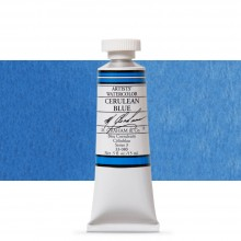 M. Graham : Artists' Watercolour Paint : 15ml : Cerulean Blue