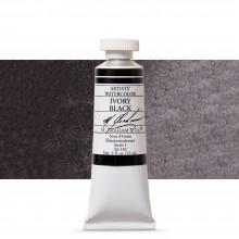 M. Graham : Artists' Watercolour Paint : 15ml : Ivory Black