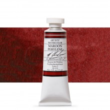 M. Graham : Artists' Watercolour Paint : 15ml : Maroon Perylene