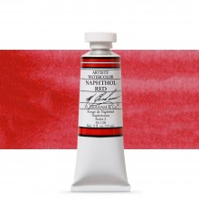 M. Graham : Artists' Watercolour Paint : 15ml : Naphthol Red