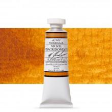 M. Graham : Artists' Watercolour Paint : 15ml : Nickel Quinacridone Gold