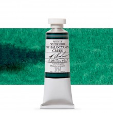 M. Graham : Artists' Watercolour Paint : 15ml : Phthalo Green