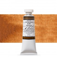 M. Graham : Artists' Watercolour Paint : 15ml : Raw Sienna