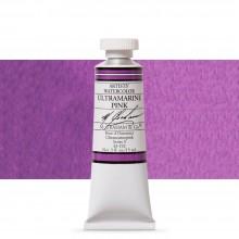 M. Graham : Artists' Watercolour Paint : 15ml : Ultramarine Pink