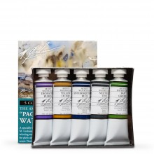 M. Graham : Artists' Watercolour Paint : 15ml : Pacific Northwest Set of 5
