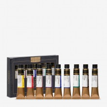 Mijello : Mission Gold : Watercolour Paint : 7ml : Set of 9