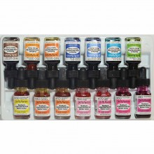 Dr. Ph. Martin's : Radiant Watercolour Paint : Dye : 15ml : Set D (43 To 56)