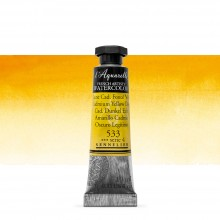 Sennelier : Watercolour Paint : 10ml : Cadmium Yellow Deep