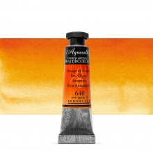 Sennelier : Watercolour Paint : 10ml : Red Orange
