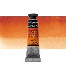 Sennelier : Watercolour Paint : 10ml : Chinese Orange