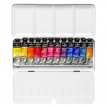 Billy Showell : Sennelier Watercolour Paint : 10ml : Paint Box Set of 12