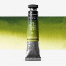 Sennelier : Watercolour Paint : 21ml : Olive Green