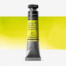 Sennelier : Watercolour Paint : 21ml : Bright Yellow Green