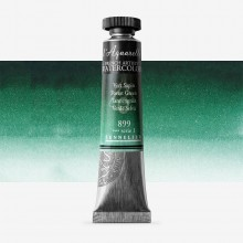 Sennelier : Watercolour Paint : 21ml : Forest Green