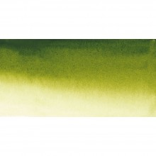 Sennelier : Watercolour Paint : Half Pan : Olive Green
