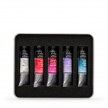 Billy Showell : Sennelier Watercolour Paint : 10ml : Extra Colour Set of 5