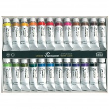 ShinHan : Premium Extra Fine Watercolour Paint : 15ml : 24 Tube Set