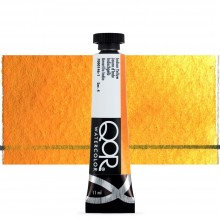 Golden QoR : Watercolour Paint : 11ml : Indian Yellow