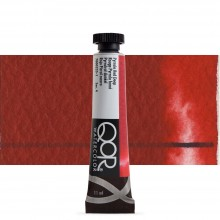 Golden QoR : Watercolour Paint : 11ml : Pyrrole Red Deep