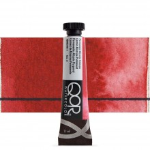Golden QoR : Watercolour Paint : 11ml : Permanent Alizarin Crimson