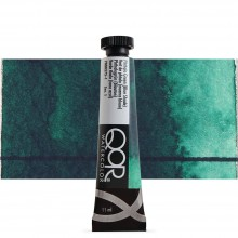 Golden QoR : Watercolour Paint : 11ml : Phthalo Green Blue Shade
