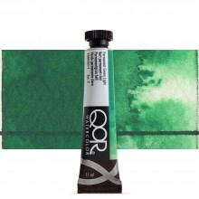 Golden : Qor : Watercolour Paint : 11ml : Permanent Green Light