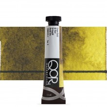 Golden : Qor : Watercolour Paint : 11ml : Green Gold