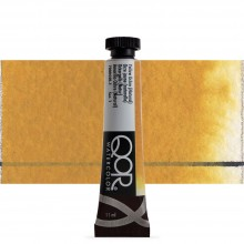 Golden QoR : Watercolour Paint : 11ml : Yellow Ochre Natural