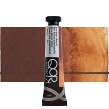 Golden : Qor : Watercolour Paint : 11ml : Burnt Sienna Natural