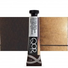 Golden : Qor : Watercolour Paint : 11ml : Burnt Umber Natural