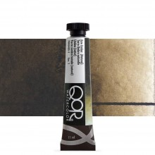 Golden QoR : Watercolour Paint : 11ml : Raw Umber Natural