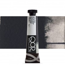 Golden : Qor : Watercolour Paint : 11ml : Carbon Black