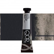 Golden QoR : Watercolour Paint : 11ml : Ivory Black