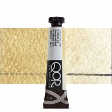 Golden : Qor : Watercolour Paint : 11ml : Iridescent Gold Fine
