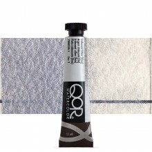 Golden : Qor : Watercolour Paint : 11ml : Iridescent Silver Fine