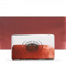 Roman Szmal : Aquarius : Watercolour Paint : Full Pan : Indian Red