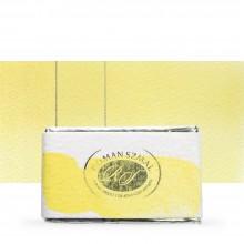 Roman Szmal : Aquarius : Watercolour Paint : Full Pan : Nickel Titanate Yellow