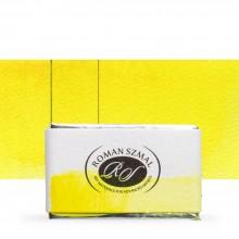 Roman Szmal : Aquarius : Watercolour Paint : Full Pan : Hansa Yellow Light