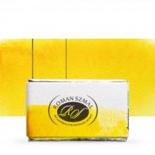 Roman Szmal : Aquarius : Watercolour Paint : Full Pan : Hansa Yellow Medium