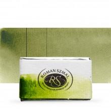 Roman Szmal : Aquarius : Watercolour Paint : Full Pan : Sap Green Light