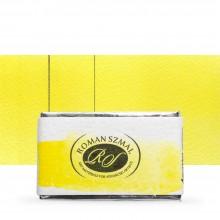 Roman Szmal : Aquarius : Watercolour Paint : Full Pan : Bismuth Yellow