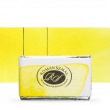 Roman Szmal : Aquarius : Watercolour Paint : Full Pan : Isoindolinone Yellow Light